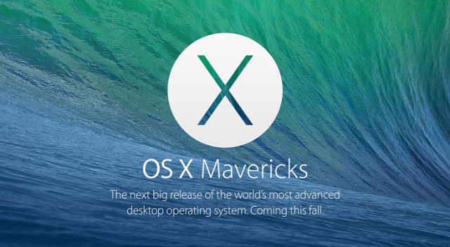 Macs compatible with OS X Mavericks | TUAW - The Unofficial Apple Weblog
