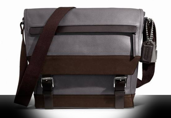 Coach :: THOMPSON SMALL MESSENGER IN COLORBLOCK LEATHER