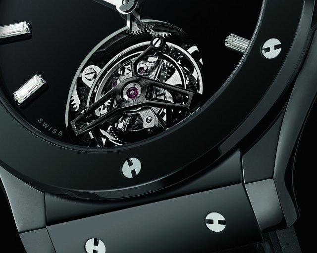 TimeZone : Industry News » N E W M o d e l - Hublot Classic Fusion Tourbillon Night-Out