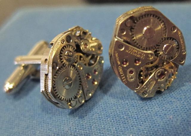 Wonders In Time Cufflinks