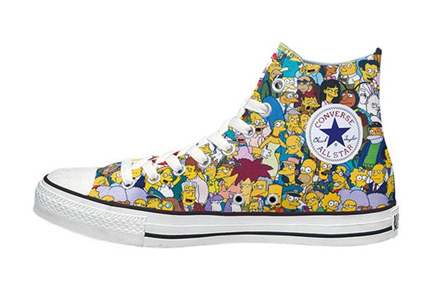 The Simpsons + Converse Japan CTAS High-Top  e9fcbeaa96e3