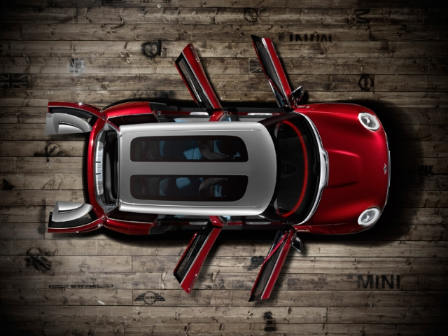 MINI premieres the clubman concept, a six-door hatchback in geneva