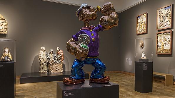 Billionaire Steve Wynn buys Jeff Koons' Popeye sculpture for  million
