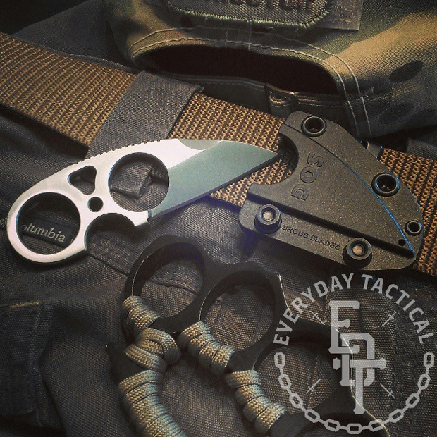 Amazon.com: SOG Snarl Fixed Blade Knife JB01K-CP: Home Improvement