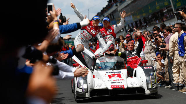 Audi wins 24 Hours of Le Mans for the 13th time - Road & Track
