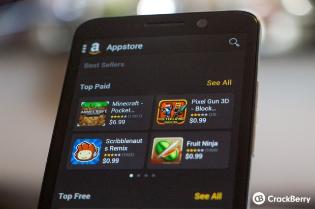 Amazon licensing Android Appstore to BlackBerry | Android Central