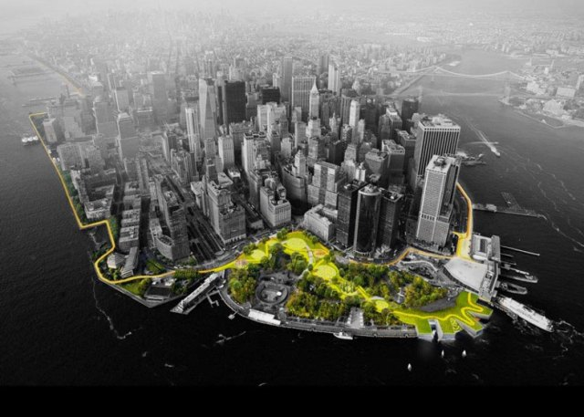 BIG awarded 5 million to improve Lower Manhattan storm defences