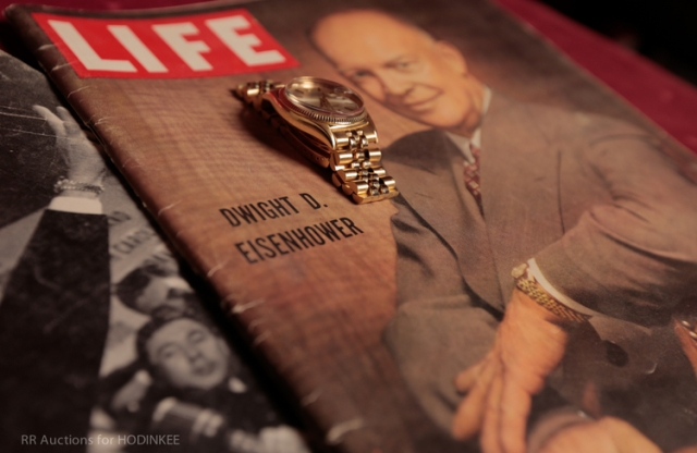 On The Block: Dwight D. Eisenhower's Personal Rolex Datejust To Be Auctioned Off This September (Live Pics, Full Details) — HODINKEE - Wristwatch News, Reviews, & Original Stories