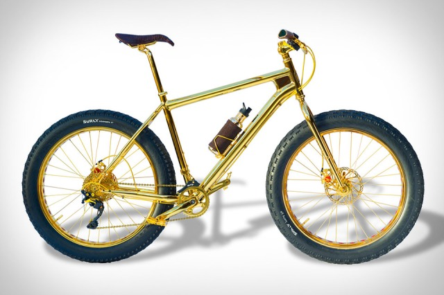 24K Gold Extreme Mountain Bike - The House of Solid Gold