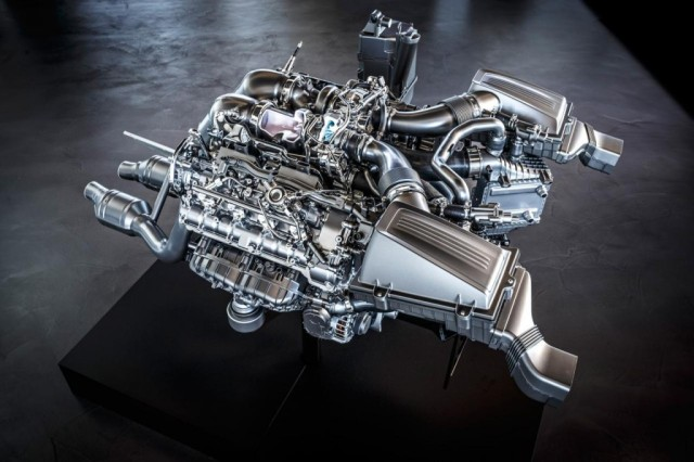 Mercedes details new 503-hp twin-turbo 4.0L V8 for AMG GT - Autoblog