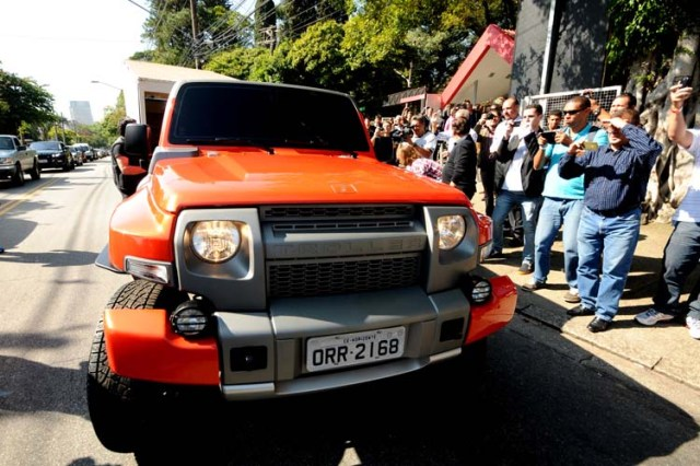 Troller - News - New Generation Troller T4 utility is presented in Sao Paulo