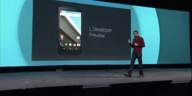 Google's next version of Android 'L-release' has a new look, deeper ties to the web