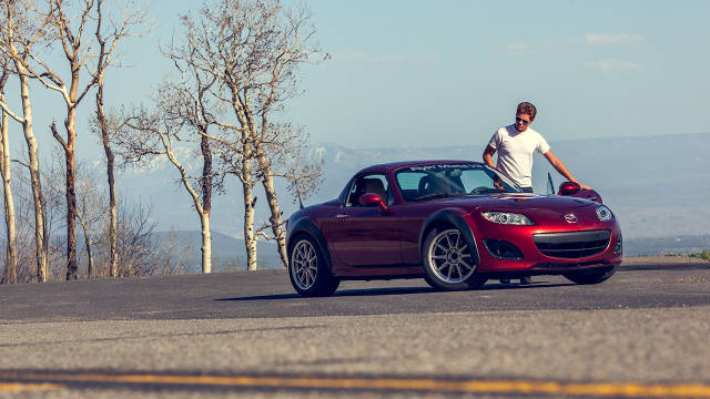 This V8 Miata is the best car I've driven all year - Road & Track