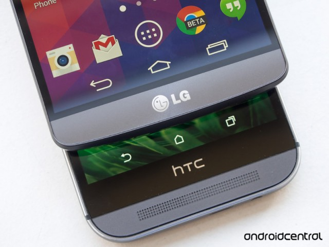 LG G3 versus HTC One M8 | Android Central