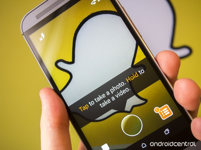 Snapchat wants to replace check-ins with geofilters. | Android Central