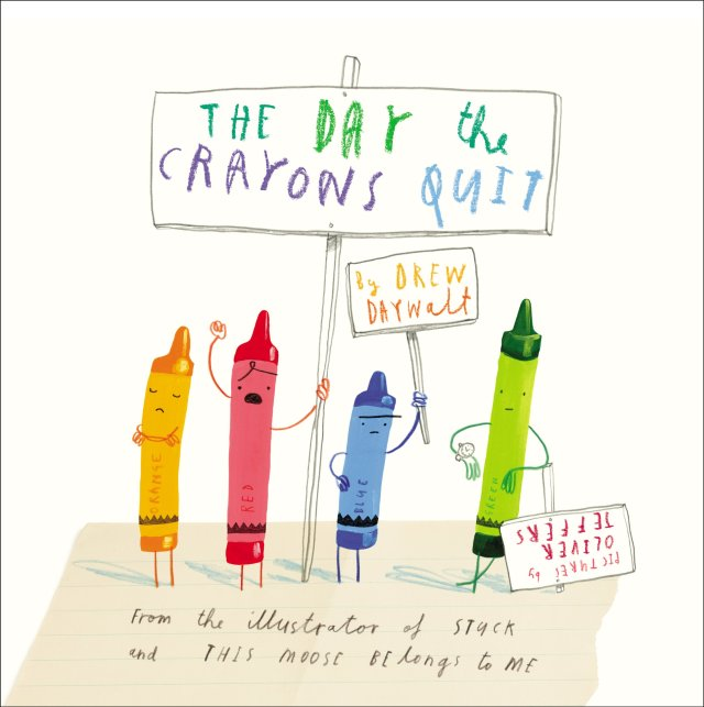 Amazon.com: The Day the Crayons Quit (9780399255373): Drew Daywalt, Oliver Jeffers: Books