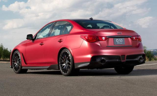 Infiniti Q50 Eau Rouge Concept First Drive – Review – Car and Driver