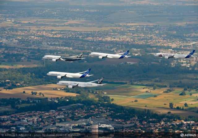 A five-Airbus formation flight is as beautiful and crazy as it sounds | The Verge