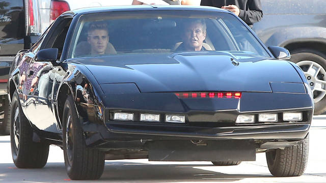 Justin Bieber to voice KITT from Knight Rider in new Hasselhoff comedy - Road & Track