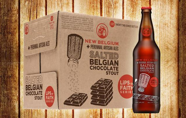 Salted Belgian Chocolate Stout - New Belgium Brewing