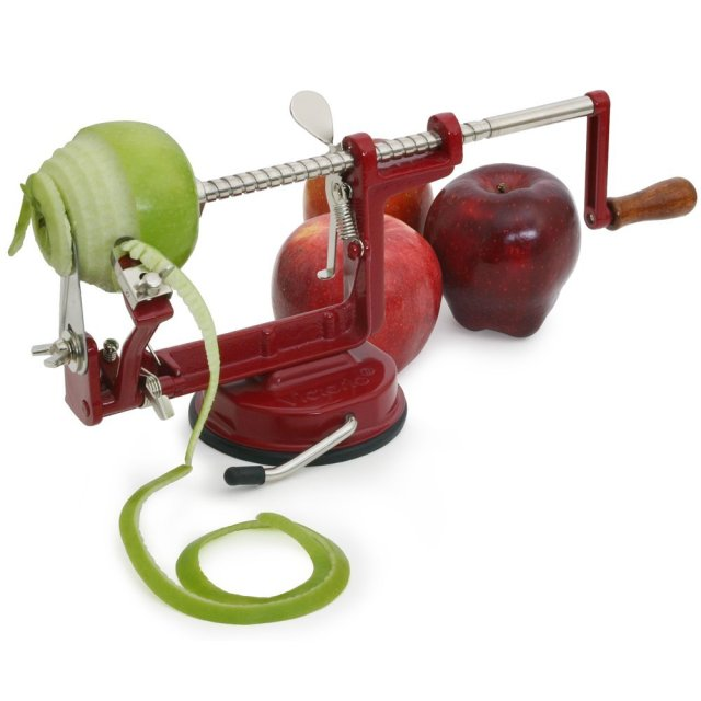 Amazon.com: Victorio VKP1010 Apple and Potato Peeler, Suction Base: Kitchen & Dining