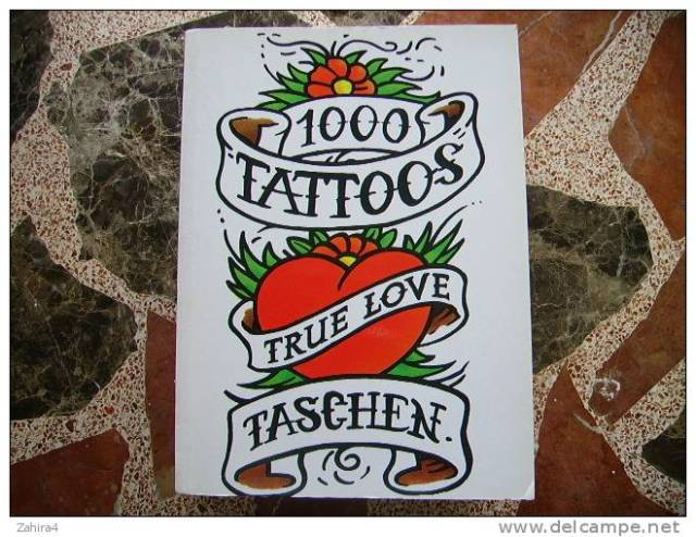 1000 Tattoos: Burkhard Riemschneider, Henk Schiffmacher: 9783836549929: Amazon.com: Books