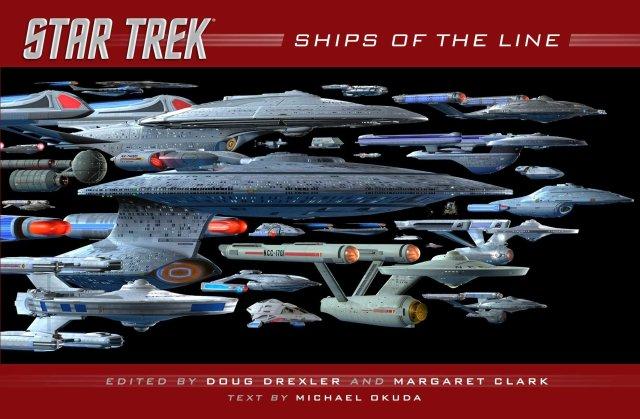 Star Trek: Ships of the Line: Doug Drexler, Margaret Clark: 9781476782584: Amazon.com: Books