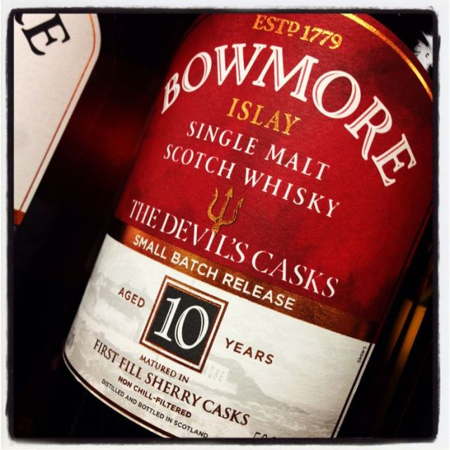 Devils Casks - Bowmore Single Malt Whisky