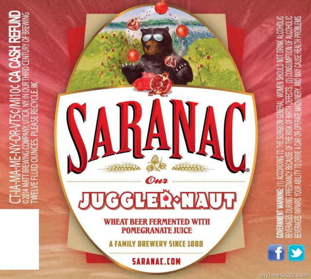 Saranac - Juggler Naut, Wild Hop Pils, Every Day IPA & Kolsch ~ mybeerbuzz.com - Bringing Good Beers & Good People Together...