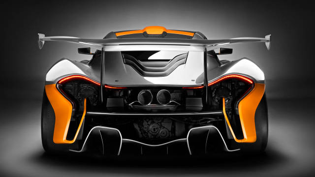 McLaren P1 GTR Design Concept - 986-hp Track-Only Hypercar Unveiled - Road & Track