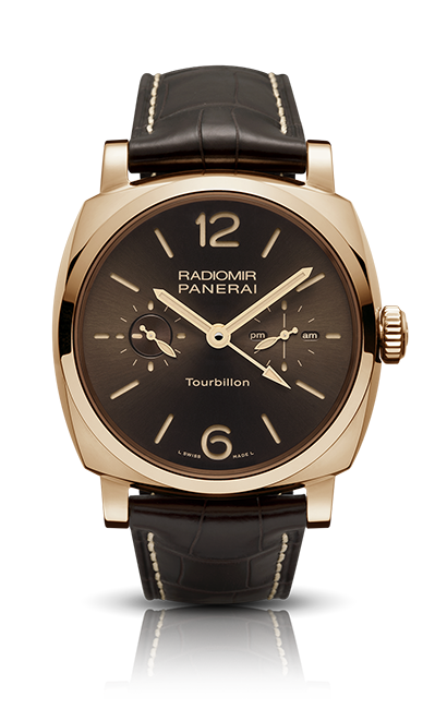 RADIOMIR 1940 TOURBILLON GMT ORO ROSSO PAM00558 - Collection 2014 - Watches Officine Panerai