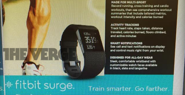This is the Fitbit Surge, a 0 'superwatch' with built-in GPS | The Verge